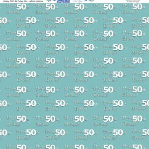 50th birthday scrapbook paper