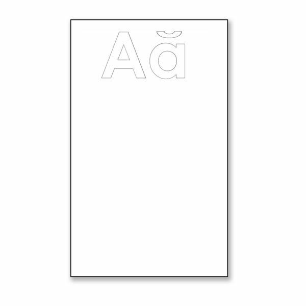 """Aa Phonics Posters 13"""" x 19"""""""