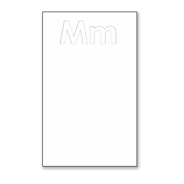 """Mm Phonics Posters 13"""" x 19"""""""