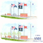 Another Way to View the Veteran's Memorial Park