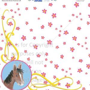 Scrapbook Paper, Outdoors,Animals, Horses