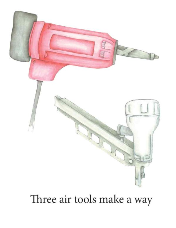 Air tools by Susan McConville-Harrer