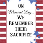 Memorial Day Signage