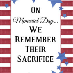 Memorial Day Signage