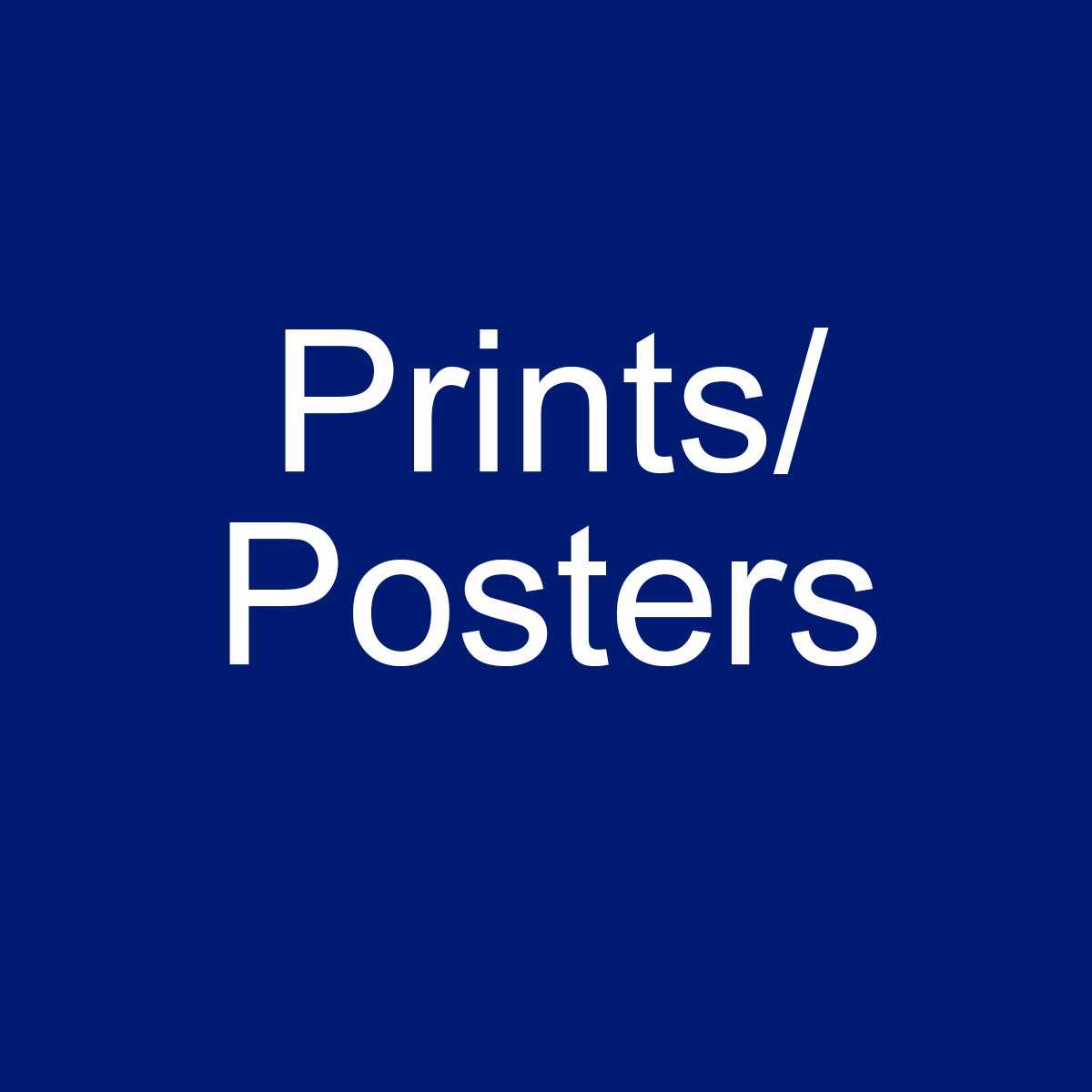 Prints / Posters