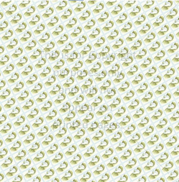 calla lily scrapbook paper