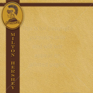 Milton Hershey School Scrapbook Paper
