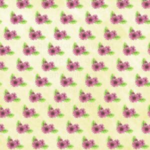 Gerbera Daisy Scrapbook