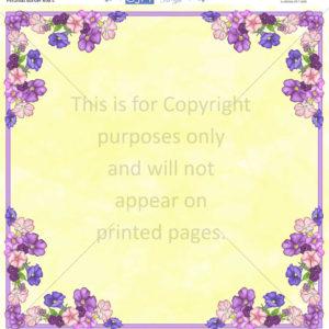 Petunia Scrapbook Paper