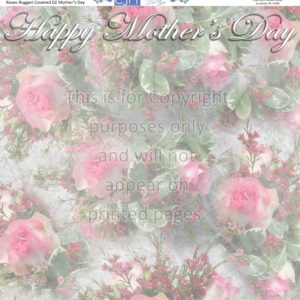 Mother's Day Scrapbook paper
