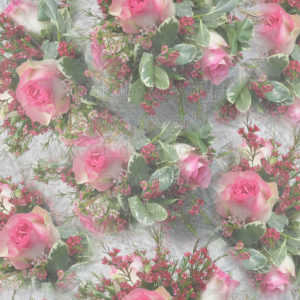Floral Scrapbook Paper of Roses