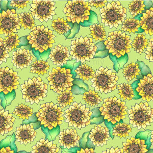 Sunflower Scrapbook Paper