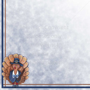 thanksgiving scrapbook paper