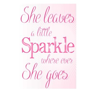 Sparkle Typography