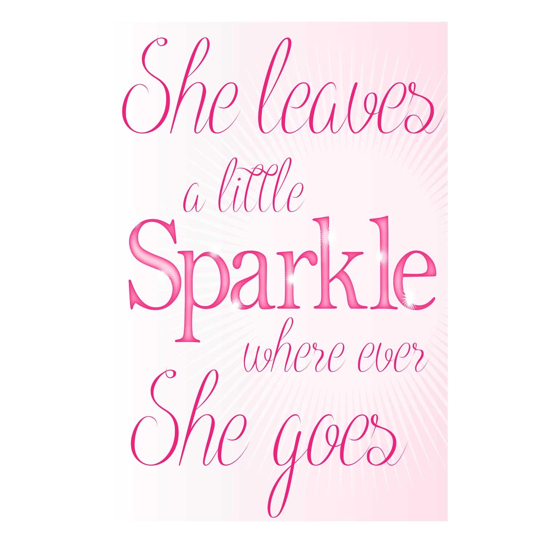 Sparkle Typography
