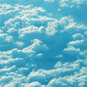 Clouds Scrapbook Paper