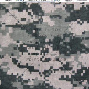 Millitary Scrapbook Paper