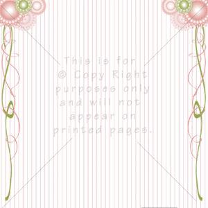 Doily Scrapbook Paper