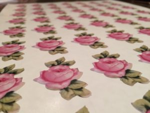 Rose flower Stickers