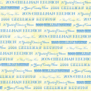 Family Reunion Scrapbook Paper