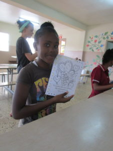 Doing artwork at CCCD