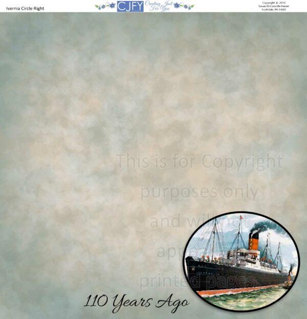 Ivernia Scrapbook Paper