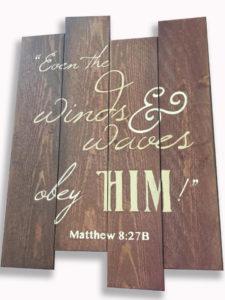 Matthew 8 27 Sign