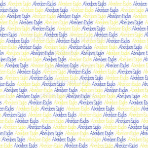 Scrapbook Paper of the Aberdeen Eagles