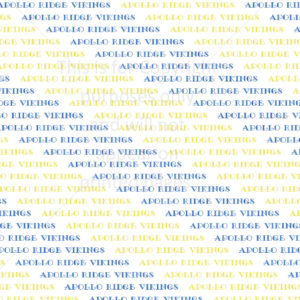 Scrapbook Paper of the Apollo Ridge Vikings