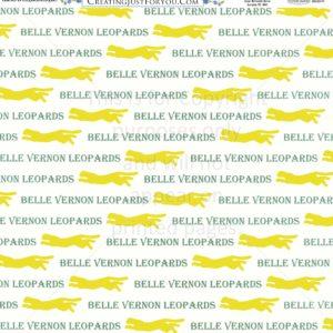 Scrapbook Paper of the Belle Vernon Leopards