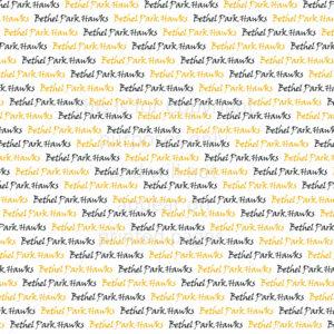 Bethel Park Hawks Scrapbook Paper