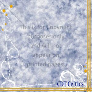 CDT Celtics Scrapbook Paper