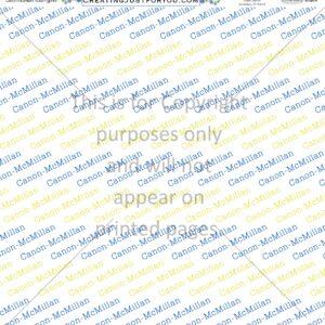 Canon McMillan Scrapbook Paper