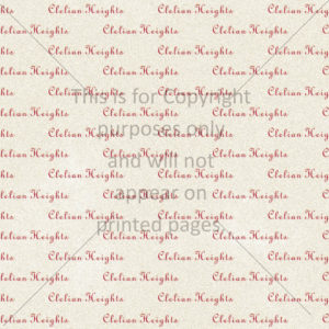 Clelian Heights Scrapbook Paper