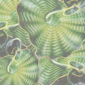 Chihuly Glass Scrapbook Paper