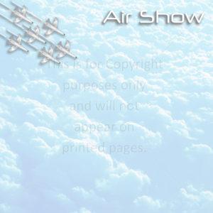 Airshow Scrapbook Paper