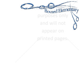 Bovard Elementary Scrapbook Paper