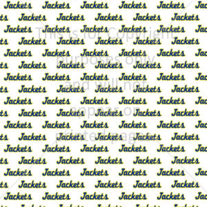 Freeport Yellow Jackets Scrapbook Paper
