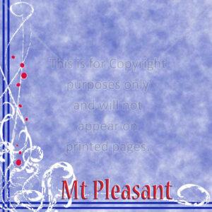 Mt Pleasant Scrapbook Paper