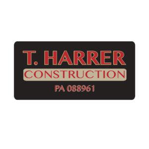 Logo and Branding for T. Harrer Construction