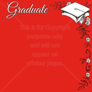 Graduation Scrapbook Paper