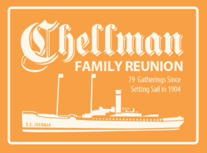 Chellman Family Reunion T-shirt Design