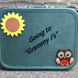 Vinyl Lettering for an Excited Grandmother