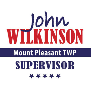 John Wilkinson political signage