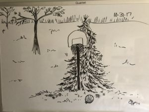 Basketball Hoop for Inktober