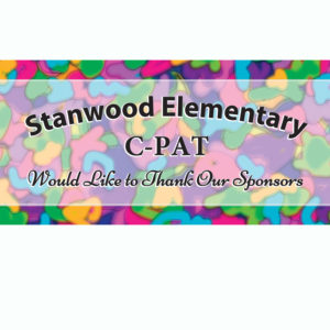 5K Color Run Signage for Stanwood Elementary School