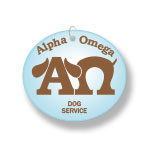 Logo and Business Collateral for Alpha Omega Dog Services