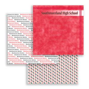 Southmoreland High School Scrapbook Paper