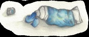 tube of oil paint