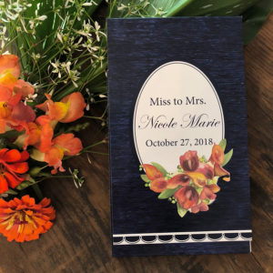 Note Pads for Wedding Shower